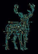 Electric Deer