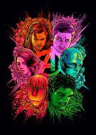 Avengers colour all