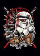 Storm Trooper Gold Starwars