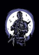 Gas Mask Soldier E