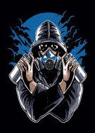 Graffiti Gas Mask E