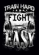 Train Hard Gym Weight Training kla