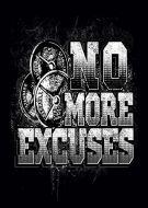 No More Excuses gym weights kla