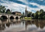 Bridge church trees shrewsbury