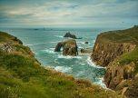 Cornwall waves and rocks