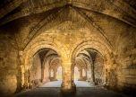 Kirkstall abbey arches UK