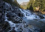 Water sacred dancing cascade