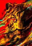 Primal gaze animal tiger aa