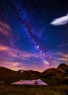 Night sky fishing