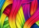 Colourful strands