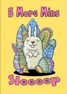 five more mins sleep rabbit yellow