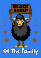 Black sheep of the family blue