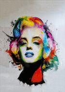 Monroe watercolour art