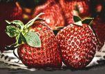 Strawberries art