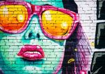 Lady luck grafitti street art