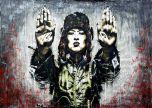 Stop the war grafitti street art