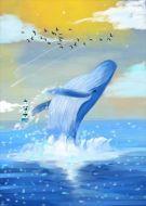 Sea Ocean Whale Splash Sun