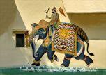 House Art Graffiti Elephant street art