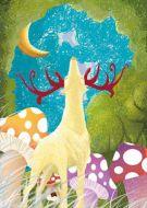 Deer In The Enchanting Woodland