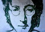 John Lennon Street -Art