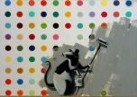Damien Hirst Banksy