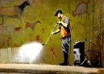 Banksy jet washing