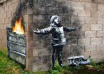 A Very Merry Christmas Banksy