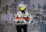 Banksy smile soilder