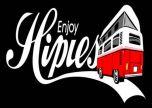Hippies Camping Van