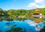 Golden Pavilion Japan Kyoto Temple Kinkakuji