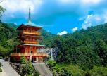 Japan temple Pagoda