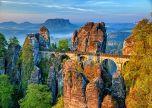 Bastei bridge landscape