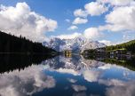 Misurina italy lake in veneto lake in dolomites