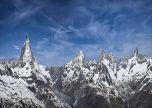 Switzerland blue sky mountains