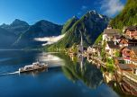 Hallstatt Austria Bergsee Lake Alpine Summer