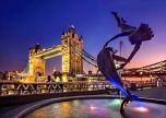 London Tower Bridge England Monument River Thames