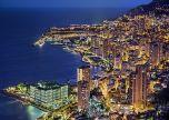 Monaco Monte Carlo France Evening places