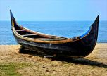 Wooden Handmade Traditiona Indian Boat