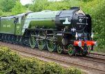Tornado Steam Locomotive train