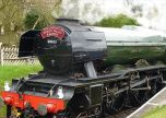 Train Flying Scotsman Steam Engine Locomotive