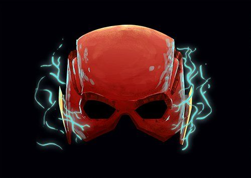 Mask Of Lightning Flash Dp - From £17.50 | Metal Plate Pictures