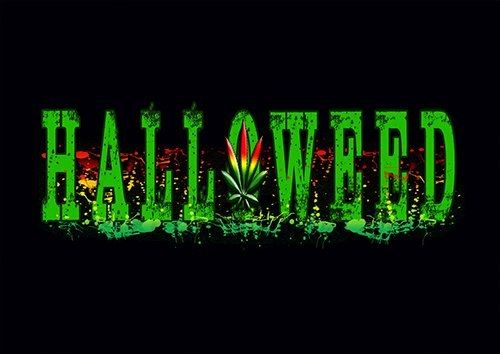 Halloweed lou - From £17.50 | Metal Plate Pictures