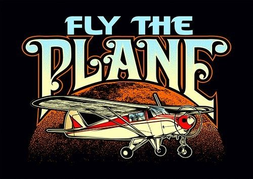 Fly The Plane CK - From £17.50 | Metal Plate Pictures