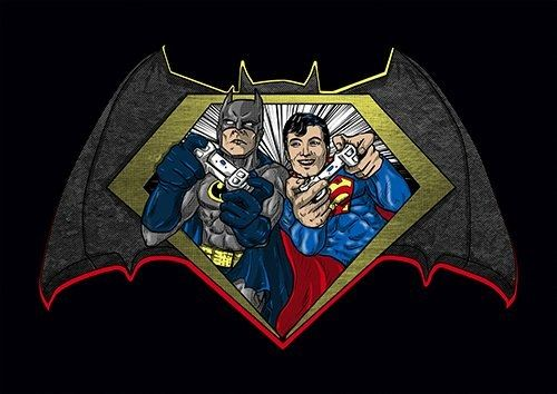 Batman vs superman game - From £17.50   Metal Plate Pictures
