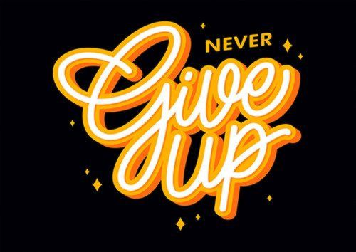 Never Give Up 3 Ari, Sandy\Brown\Blue\Mix colour, X-Large A1 24x36Inch size - From £17.50 | Metal Plate Pictures