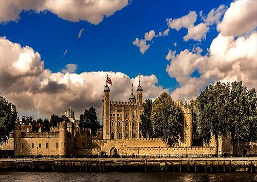 Tower Of London England City UK, Black colour - From £20.50 | Metal Plate Pictures