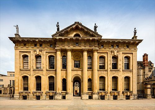 University of Oxford UK, Black colour - From £17.50 | Metal Plate Pictures