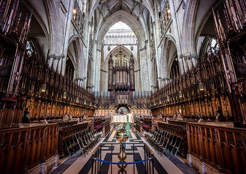 York minster uk, Black colour - From £20.50 | Metal Plate Pictures