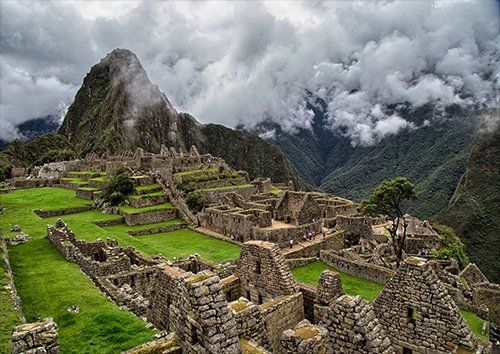 Machupicchu clouds, Black colour - From £17.50 | Metal Plate Pictures
