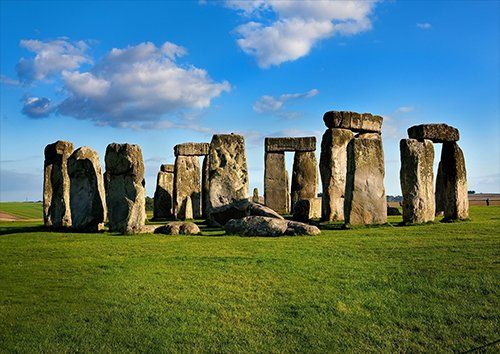 Stonehenge, Black colour - From £17.50 | Metal Plate Pictures